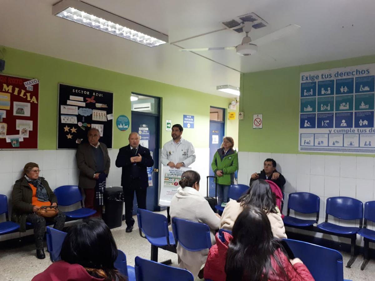 Programa de acercamiento de medicamentos al paciente