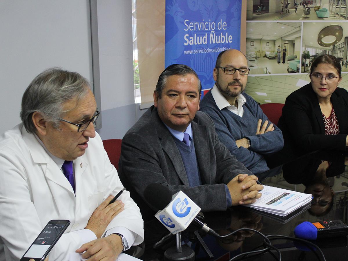 Director (s) del Servicio de Salud presentó al Director General del Proyecto del nuevo Hospital de Ñuble