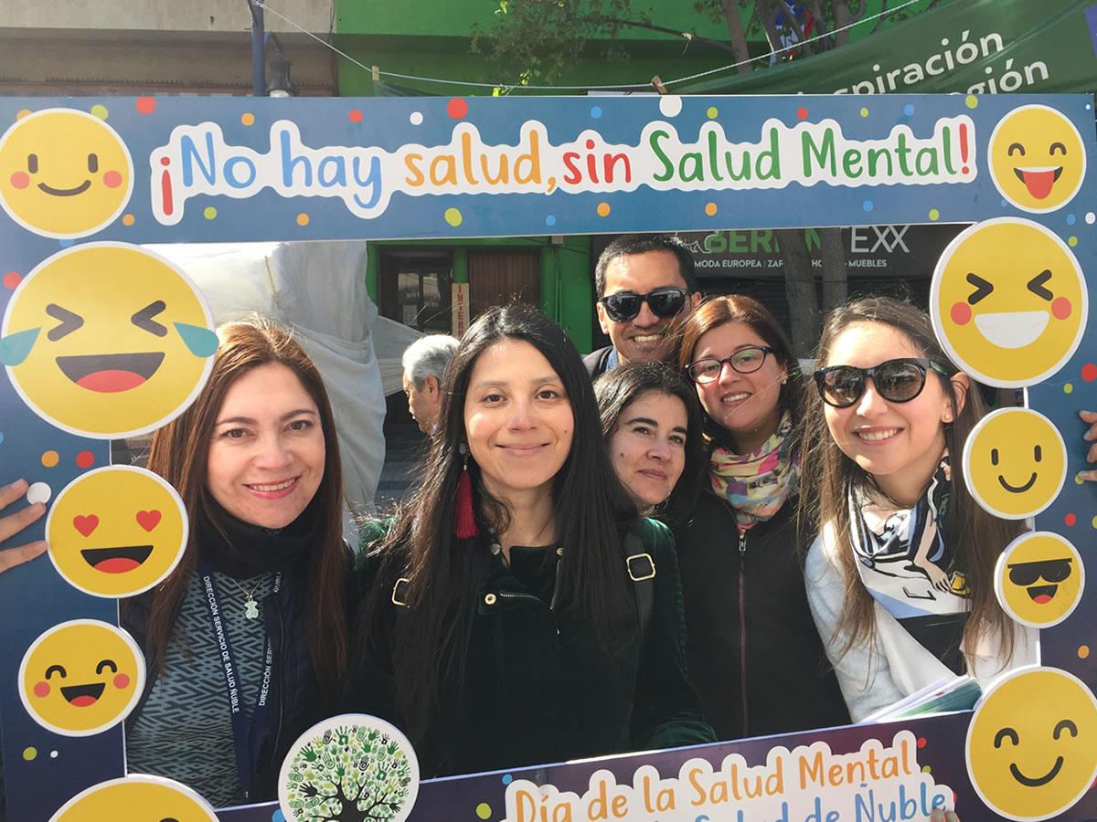 Equipos de salud entregan recomendaciones en Ñuble por el día de la salud mental