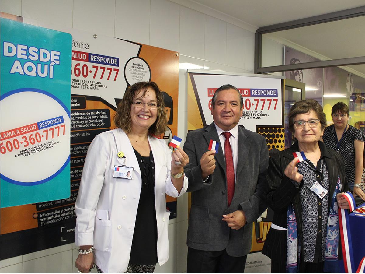 primer teléfono público de salud responde en Ñuble