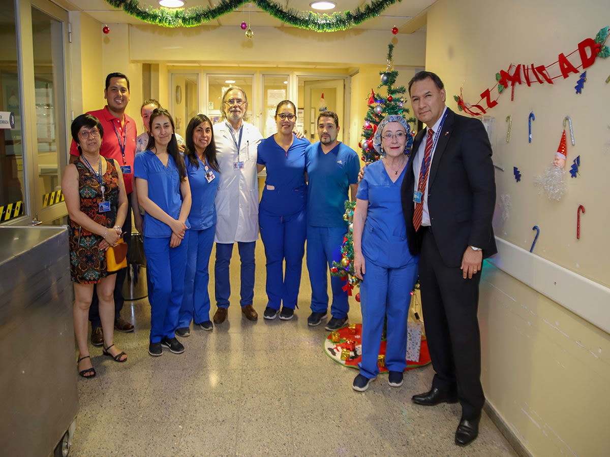 Director SSÑ visita el Hospital de Chillán 4