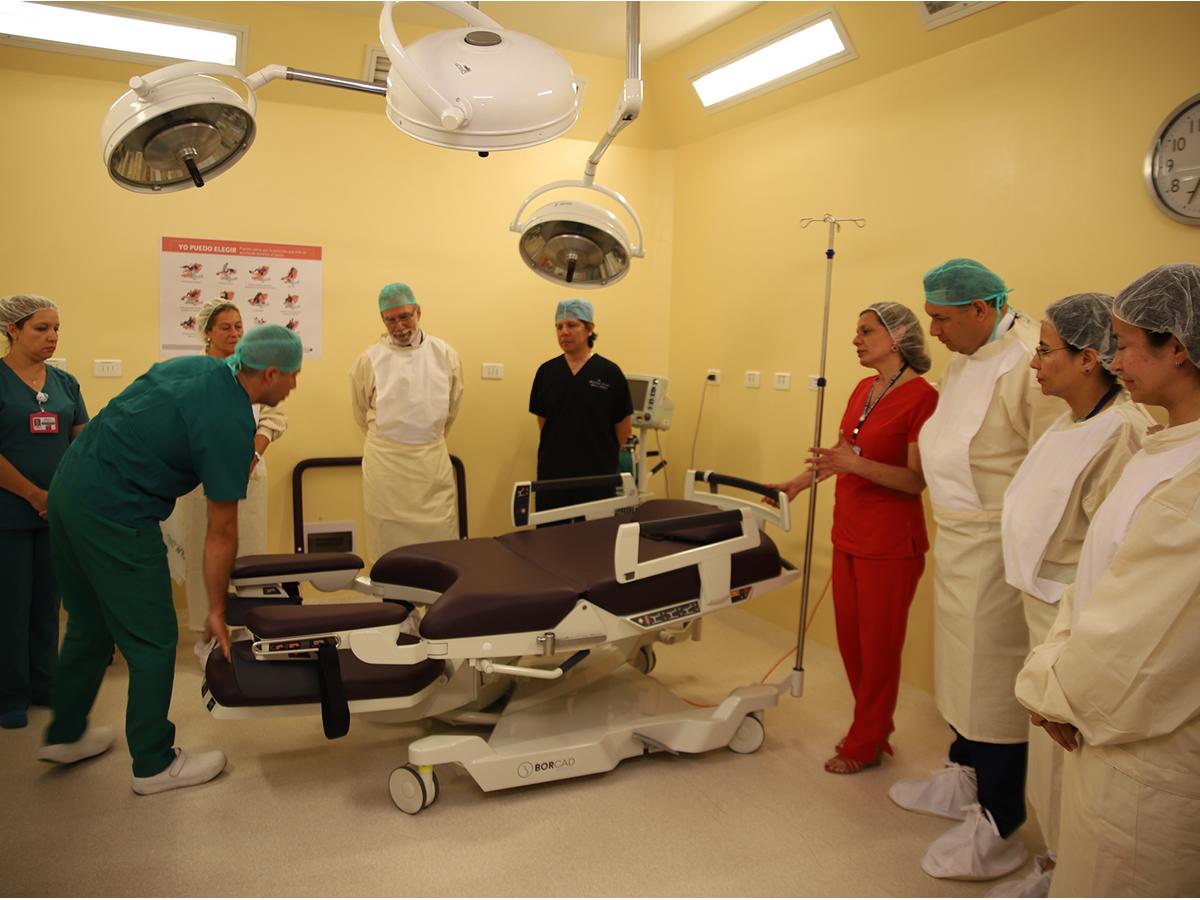 camas de parto integral hospital clínico herminda martín