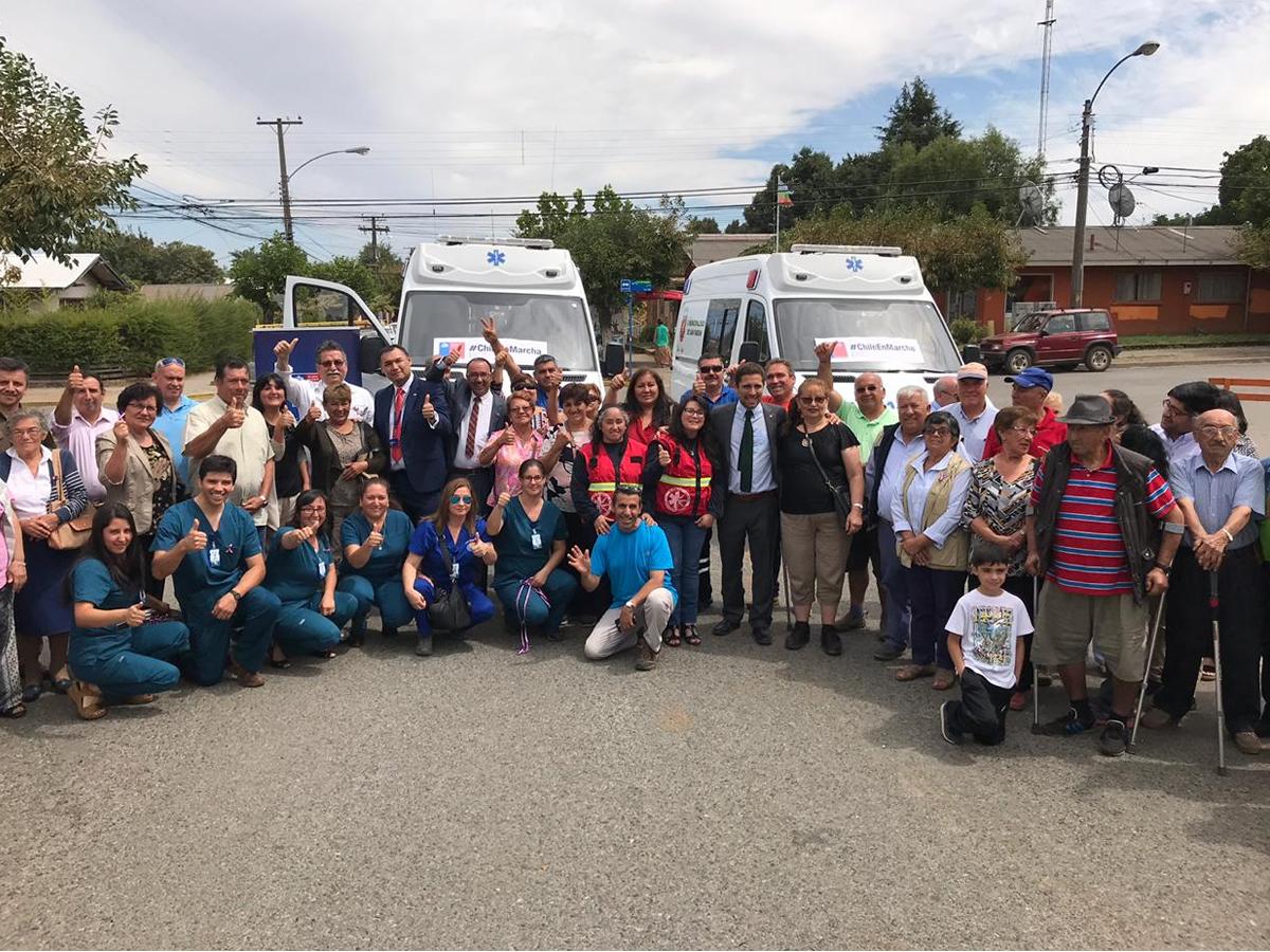 ambulancias para los usuarios y usuarias de San Fabián