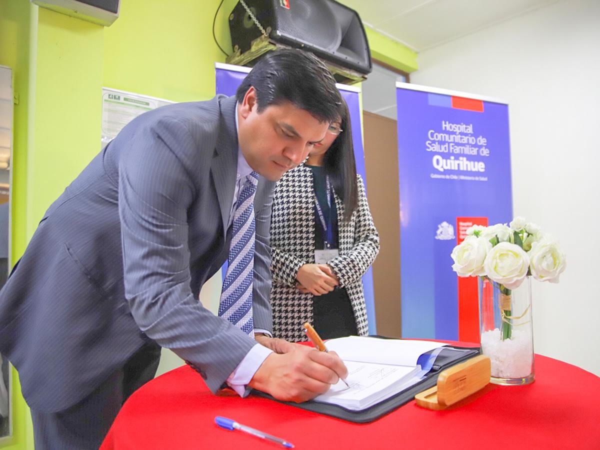 nuevo director hospital de quirihue