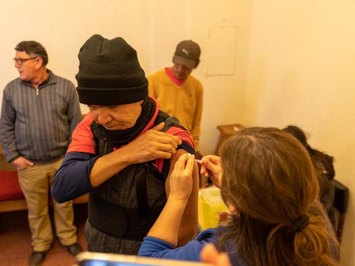 vacunacion contra la influenza
