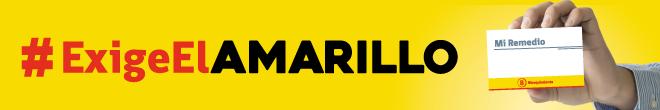 Exige el Amarillo | medicamentos bioequivalentes