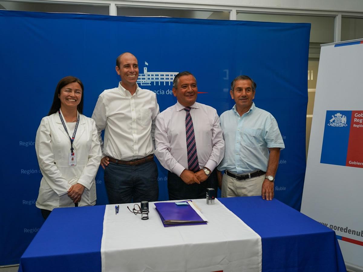 Convenio Gobierno Regional - Servicio de Salud Ñuble