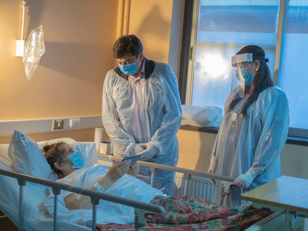comunicación familiares hospital de bulnes